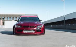 Picture Mitsubishi, Car, Widebody, Lancer Evolution, Evo 9