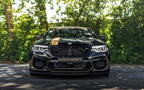 Picture BMW, sedan, front, 2018, Biturbo, BMW M5, Manhart, M5, V8, F90, 4.4 L., 723 HP, …