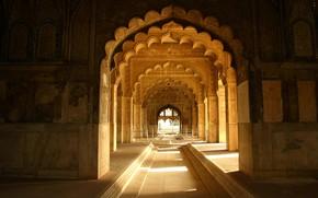 Picture India, Delhi, arcade, Red-Fort, Diwan-e-Khas