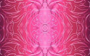 Picture background, pink, patterns