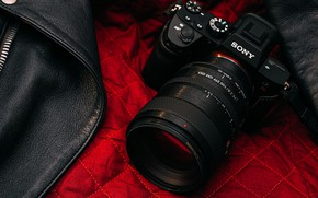 Picture design, jacket, The camera, lens, Sony A7R3