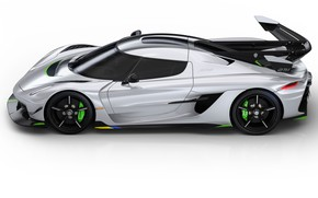 Picture machine, light, lights, Koenigsegg, drives, hypercar, Jesko
