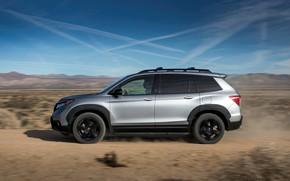 Picture desert, Honda, 2019, Passport