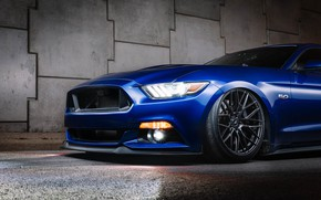 Picture Ford, front view, tuning, 2018, Mustang GT