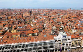 Picture home, roof, Italy, Venice