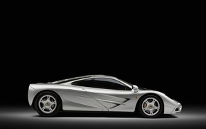 Picture McLaren, Wheel, Profile, 1993, McLaren F1, Sports car, Sports car