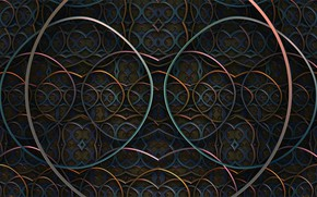 Picture pattern, 4k uhd background, tangled, abstraction, fractal, structure