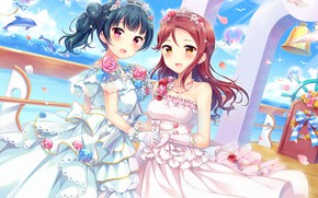 Picture girls, bride, Love Live School Idol Project