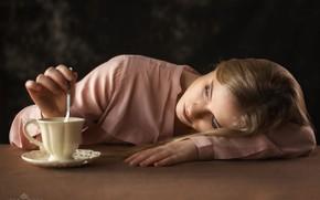 Picture girl, Cup, Rus, Michalak Arkadiusz