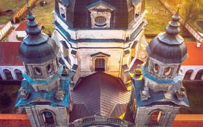 Picture architecture, Lithuania, Kaunas, Monastery, Pažaislis