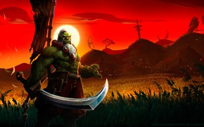 Picture Blizzard, Art, Orc, WarCraft, Mr--Jack, by Mr--Jack, World of WarCraft, Blademaster, Mr Jack, by Mr …