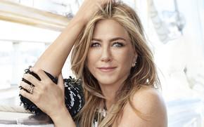 Picture look, portrait, actress, Jennifer Aniston, Jennifer Aniston, view, hair, actress