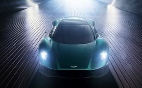 Picture machine, light, Aston Martin, sports car, Vanquish, Vision concept