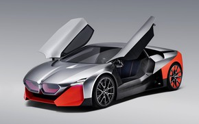 Picture background, coupe, door, BMW, 2019, Vision M NEXT Concept