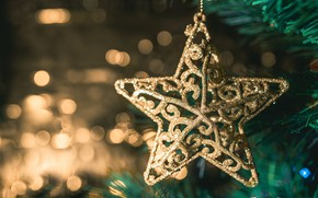Picture star, Christmas, New year, Christmas decoration, Christmas toy