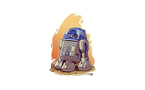 Picture R2D2, Star wars, Derek Laufman