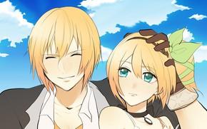 Picture anime, art, girl, guy, Tales Of Zestiria