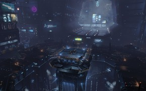 Picture space, eve online, space station, hub