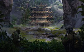 Picture China, temple, weihao wei, Yunnan Province, The Search for the beast