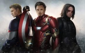 Picture hero, Iron Man, Marvel, costumes, Captain America, Captain America, Chris Evans, Tony Stark, Robert Downey, …