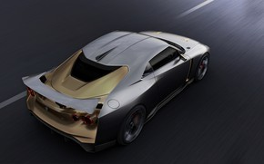 Picture wing, Nissan, 2018, ItalDesign, GT-R50 Concept