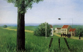 Picture picture, unreality, reality, easel