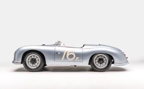 Picture Porsche, 1953, Classic, Classic car, Porsche 356, Porsche 356 America Roadster