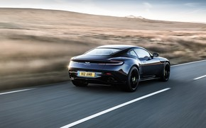 Picture Aston Martin, rear view, 2018, DB11, AMR