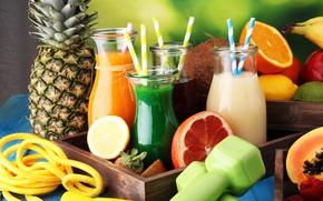 Picture berries, juice, fruit, drinks, vitamins, fresh