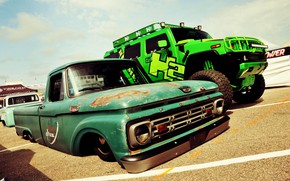 Picture Ford, Lowrider, Custom, Low car