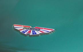Picture Aston Martin, Logo, British, Label, 2019, DBS 59