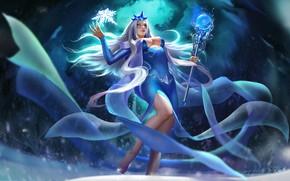 Picture tale, art, the snow Queen, li fengyang, bingxue