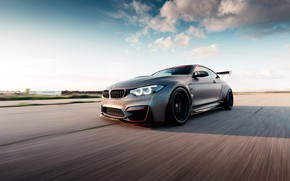 Picture BMW, road, speed, BMW M4