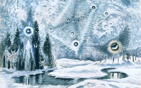 Picture 1962, Charles Ephraim Burchfield, Orion in Winter