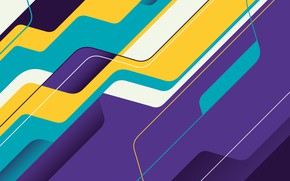 Picture line, abstraction, vector, art, geometry, background, color