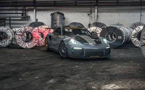 Picture lights, 911, Porsche, GT2 RS, 991, Edo Competition, 2020
