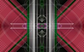 Picture line, background, figure, color
