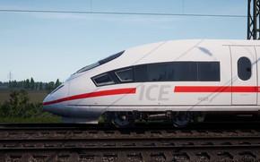 Picture White, Locomotive, Train, Wallpaper, Train, Railway, ICE, Rail, Railroad, Wallpaper for desktop, For your desktop, …