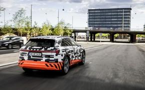 Picture the city, Audi, street, 2018, E-Tron Prototype