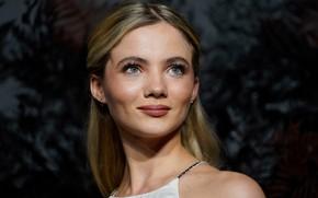 Picture look, girl, face, actress, Freya Allan