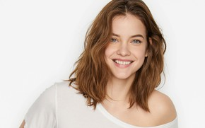 Picture look, girl, smile, model, brown hair, Barbara Palvin