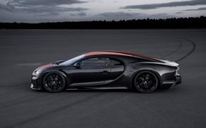 Picture asphalt, Bugatti, hypercar, Chiron, Super Sport 300+