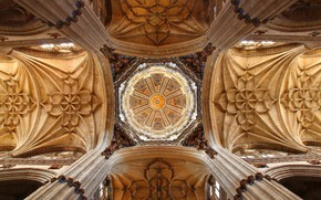 Picture architecture, Spain, Salamanca cathedral