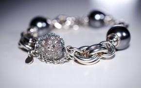 Picture macro, background, bracelet, decoration