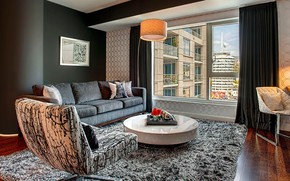 Picture room, interior, living room, by Kyle Spivey Designs, W Residence