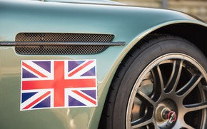Picture Flag, Wing, Velikobritaniya, Aston Martin DBRS9