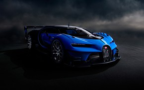 Picture background, art, the concept car, hypercar, Bugatti Vision Gran Turismo