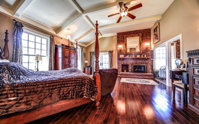 Picture design, style, interior, fireplace, bedroom, Ontario, Stouffville