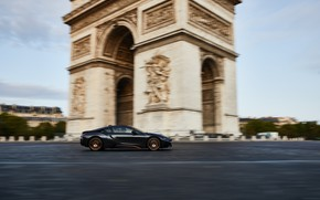 Picture France, Paris, speed, BMW, Coupe, Arch, BMW i8, 2019, Ultimate Sophisto Edition