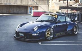 Picture Porsche, 993, RWB, Porsche 993 RWB